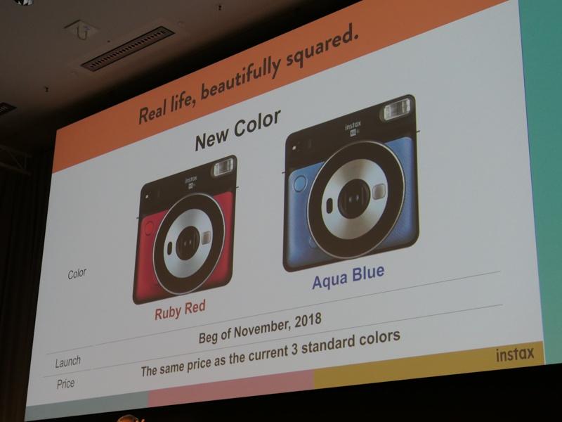 新色追加を予告。全5色展開になる。日本での新色追加に関する発表はまだない。