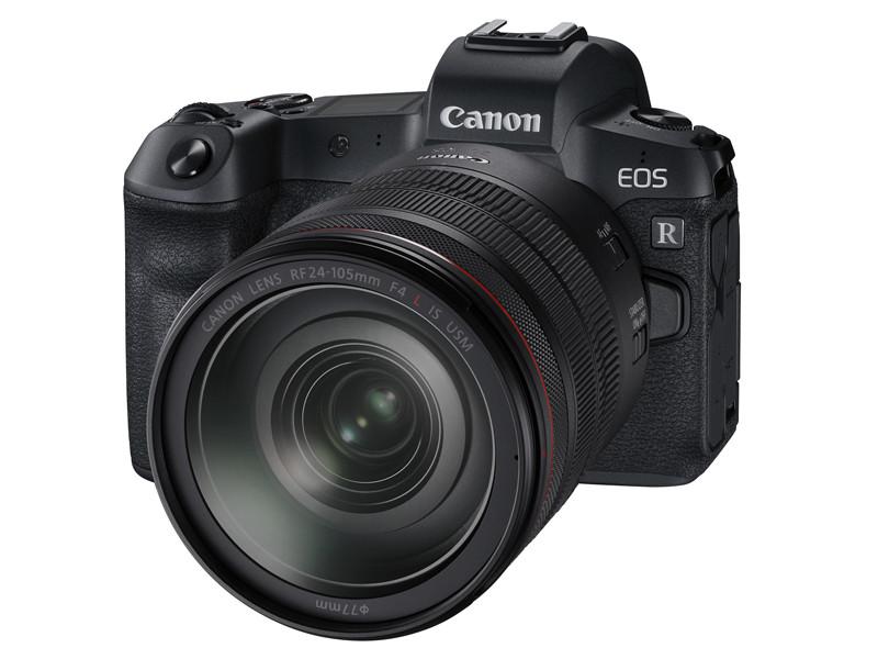 <center>EOS R(装着レンズはRF24-105mm F4L IS USM)</center>