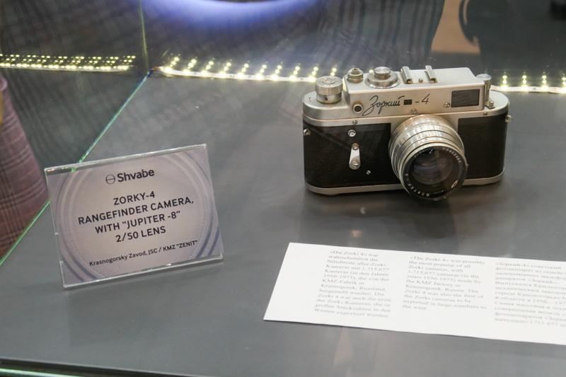レンジファインダーカメラは「ZORKI」の名前がお馴染み。