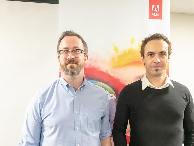 左からEric Snowden氏、Stefano Corazza氏。