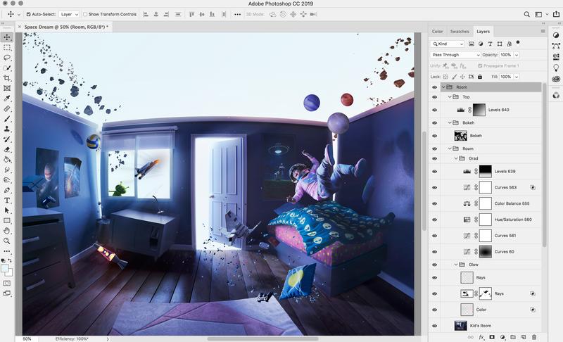 次期Photoshop for iPad