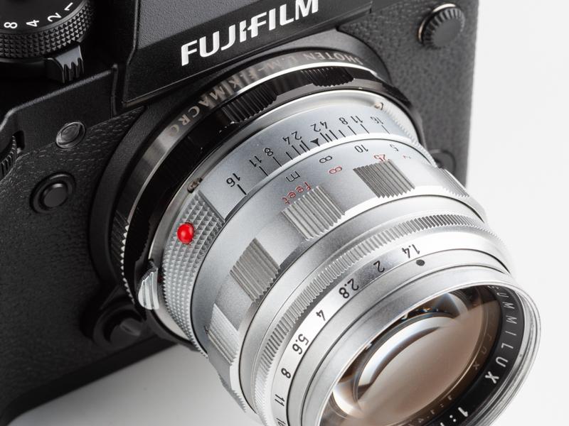 X-T3にズミルックス50mmF1.4を装着してみた。