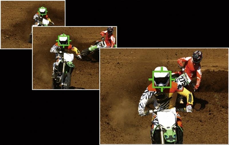 モータースポーツでは、フォーミュラカー、ラリーカー、バイクの撮影を想定。