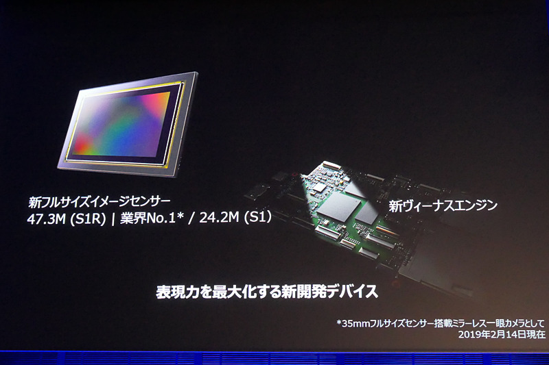 イメージセンサー、画像処理エンジンともに新開発。