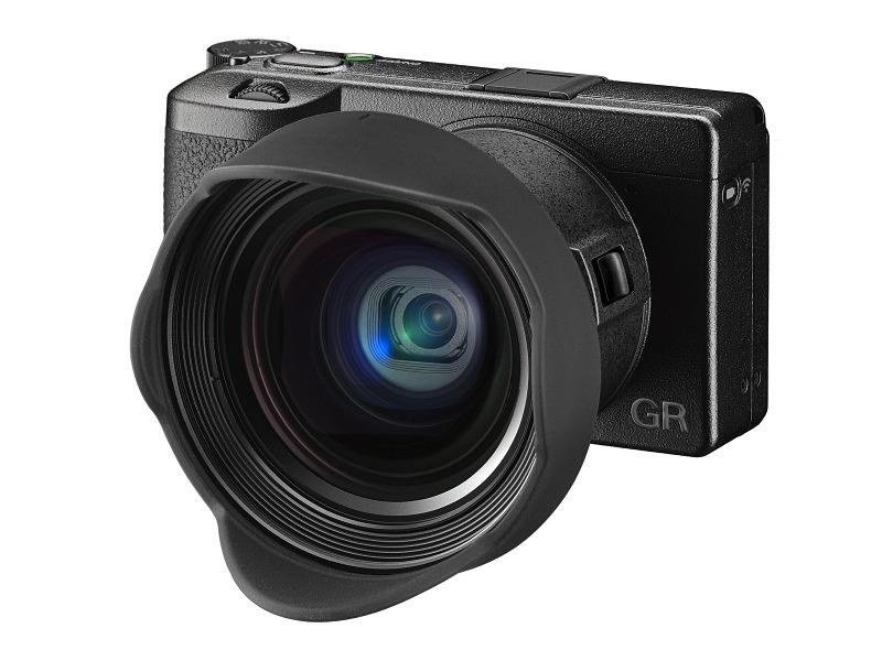 GR III+レンズアダプターGA-1+ワイドコンバージョンレンズGW-4