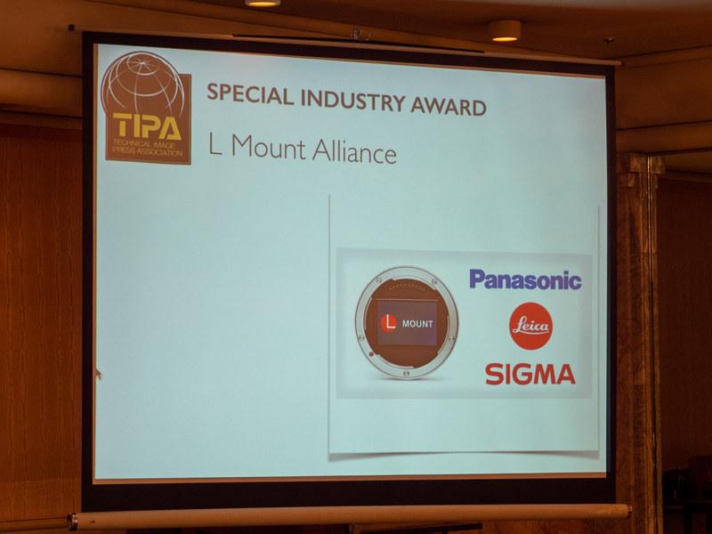 シグマ、パナソニック、ライカが締結した「Lマウントアライアンス」がSPECIAL INDUSTRY AWARDを受賞。