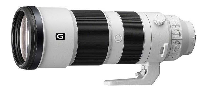 FE 200-600mm F5.6-6.3 G OSS。7月26日発売。希望小売価格は税別27万8,000円。