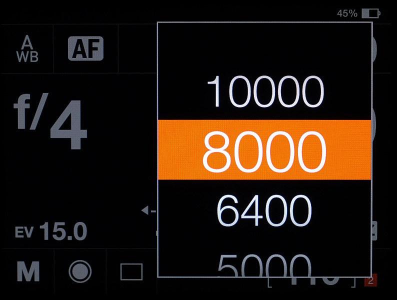 電子シャッターの最高速は1/10,000秒。