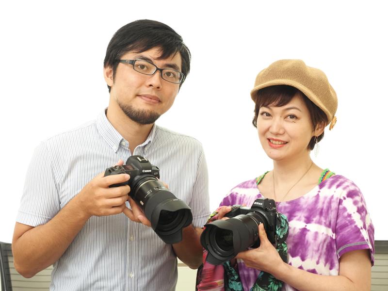 左から中原一雄さん、水咲奈々さん