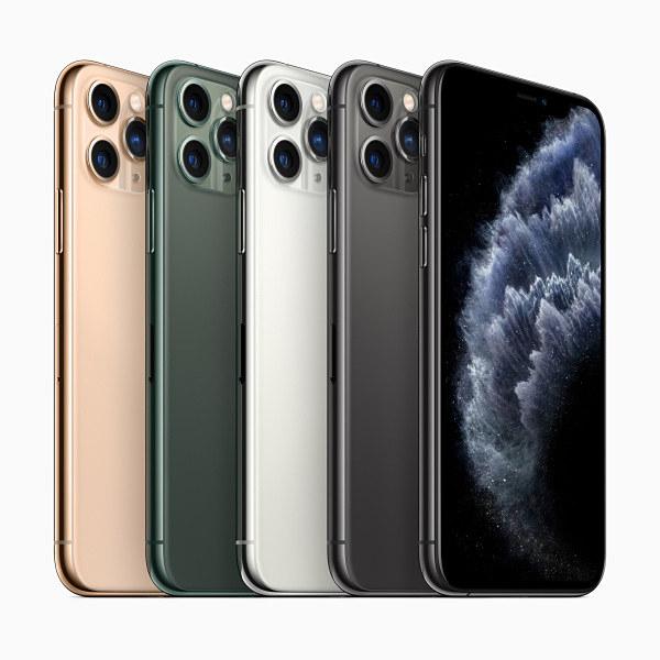 iPhone 11 Proシリーズのカラーは4種類。
