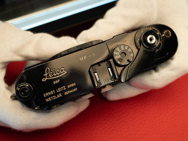 Leica MP black paint no.2