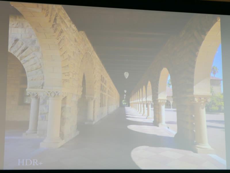 HDR+で撮影した写真の例。