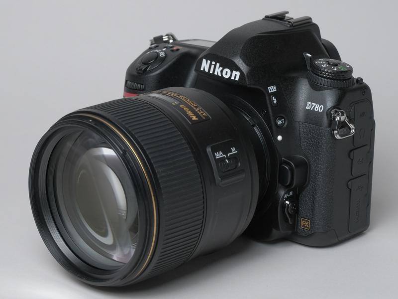 AF-S NIKKOR 105mm f/1.4E EDを装着したD780