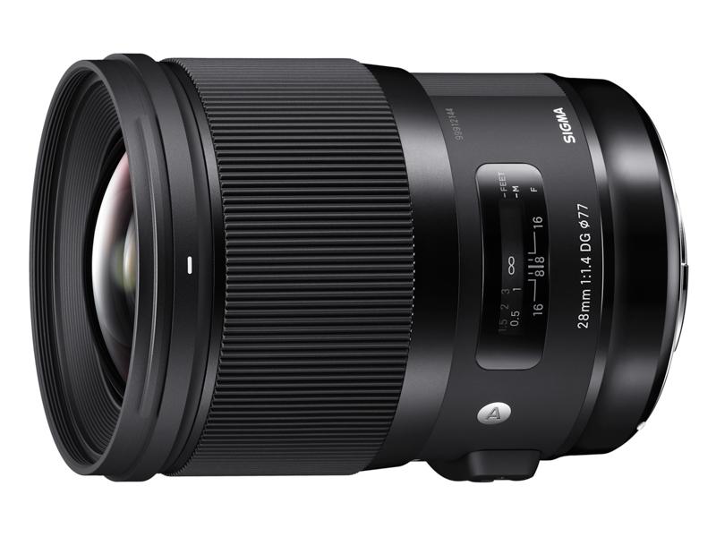 対象レンズのひとつ「SIGMA 28mm F1.4 DG HSM | Art」