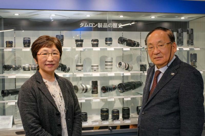 左から、千代田路子さん、市川泰憲さん
