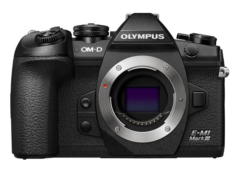 OM-D E-M1 Mark III。発売は今年2月。大手量販店での実勢価格は22万円前後(税込)。
