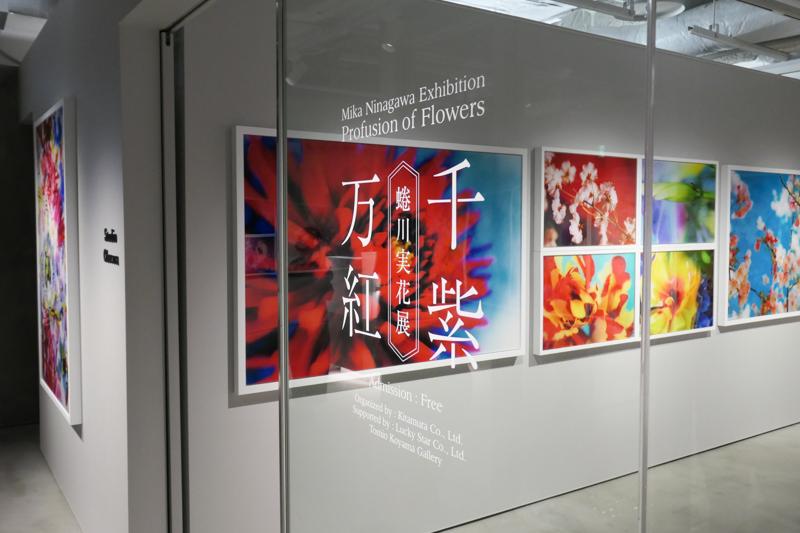 6階イベントスペースでは、オープン記念として「蜷川実花展 ー千紫万紅ー」を8月2日まで開催。