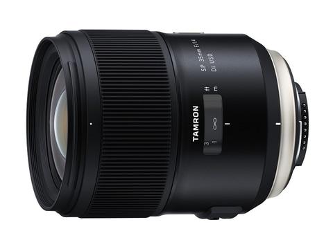対象レンズのひとつ「SP 35mm F/1.4 Di USD」(Model F045)