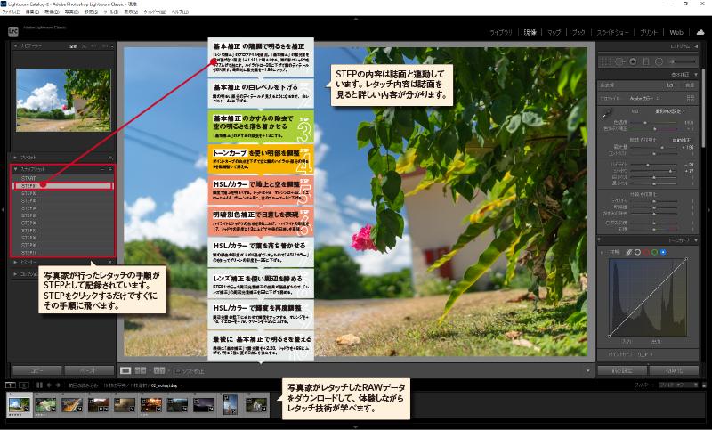 実践編で登場した写真家のRAWデータはダウンロード可能!
