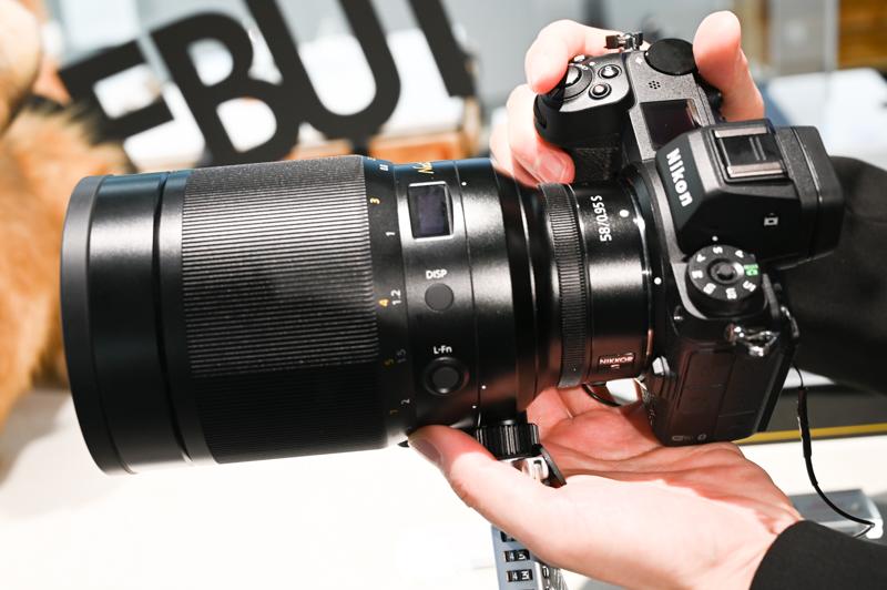 NIKKOR Z 58mm f/0.95 S Noctを装着したZ 6II