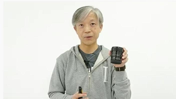 新製品を紹介した、シグマ代表取締役社長の山木和人氏(配信画面より。以下同)