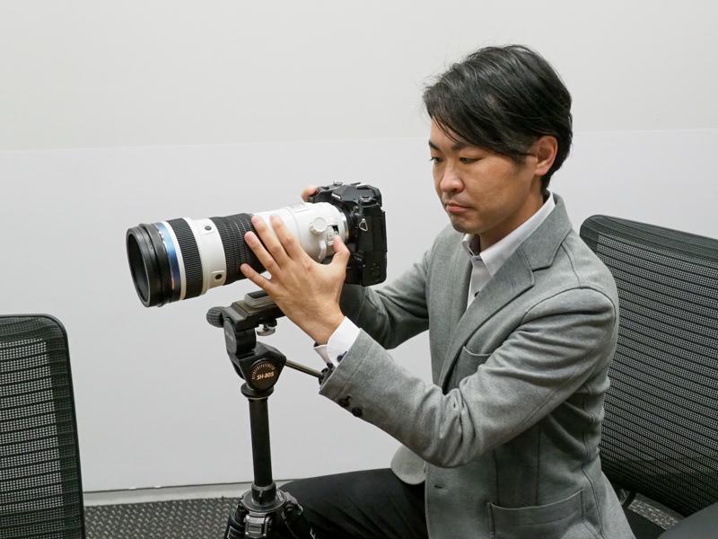 商品企画担当の小野憲司氏