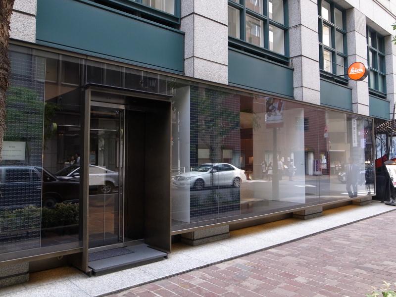 カスタマーケア窓口のあるライカ銀座店