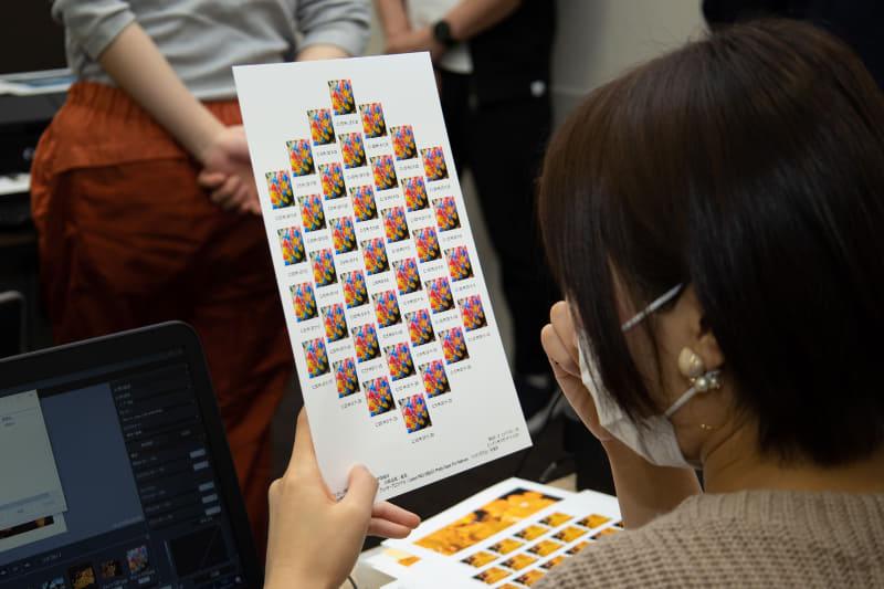 パターン印刷のメリットは、プリントする予定の用紙で補正の方個性を見極められることだ。