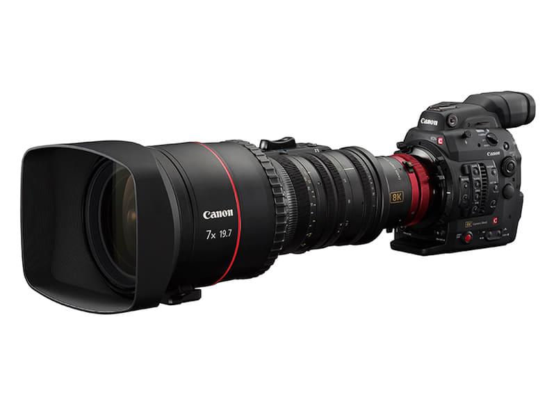 撮影に用いた「8K業務用カメラ」