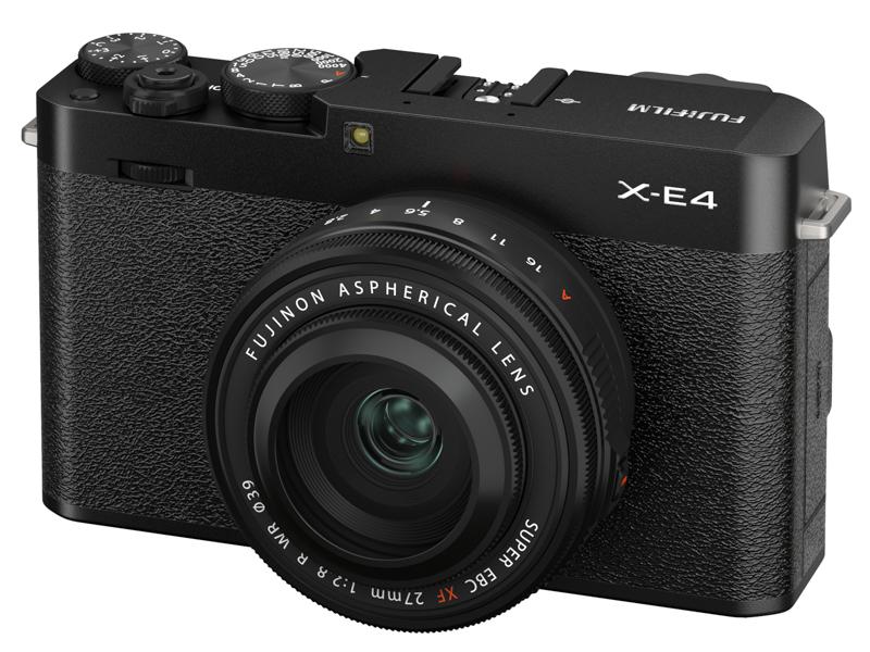 対象カメラのひとつ「FUJIFILM X-E4」
