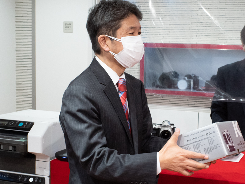 リコーイメージング株式会社 代表取締役社長の高橋忍氏