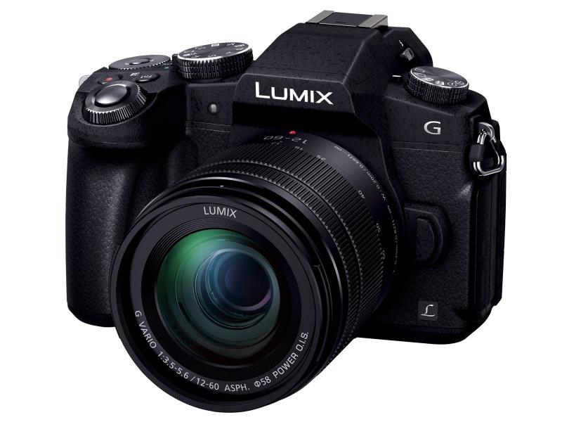 2016年に発売されたLUMIX G8。ボディ前面に「L」のバッジがつけられている