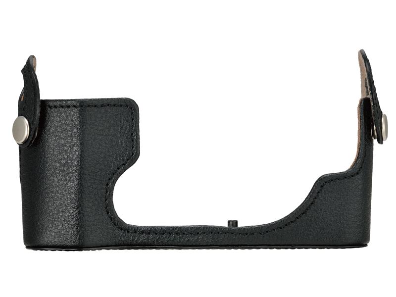 別売の本革ボディージャケット「CS-54B」装着例