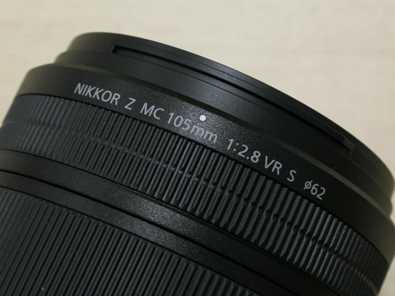 """フィルター径は62mm。""""Micro-Nikkor""""ではなく""""MC""""でマイクロレンズの意味"""