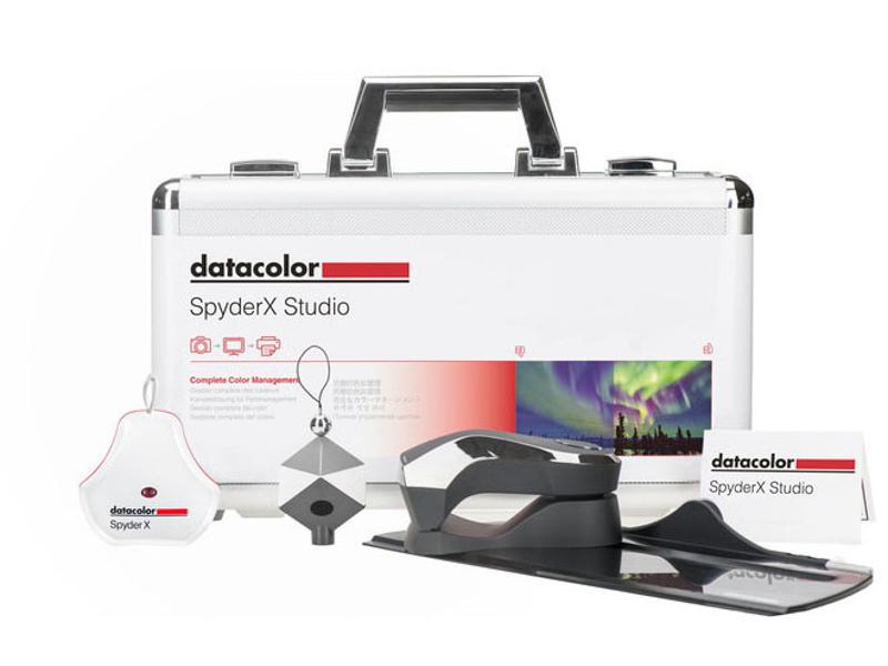 対象製品のひとつ「SpyderX Studio」