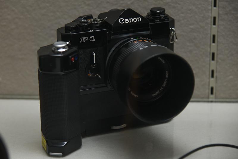 キヤノン F-1(1971年。キヤノン)