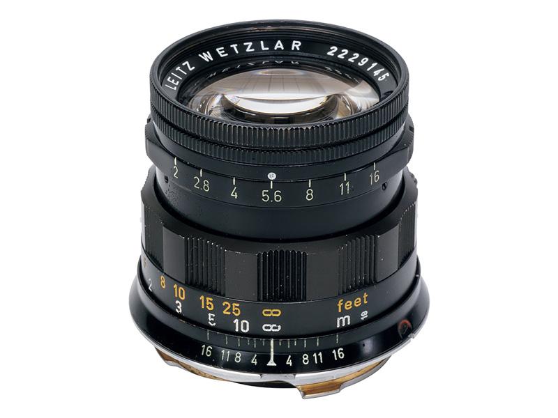 発売年:1954年(Mマウントレンズとして。現行製品の「ライカ ズミクロンM F2/50mm」とは外観やレンズ構成が異なります)