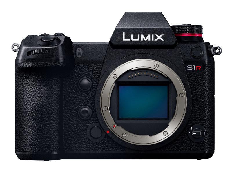 <center>対象機種のひとつ「LUMIX S1R」</center>
