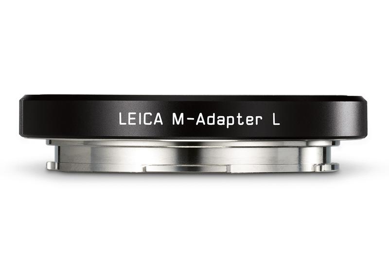 L用Mレンズアダプター ブラック。ライカMレンズの6bitコードに対応する