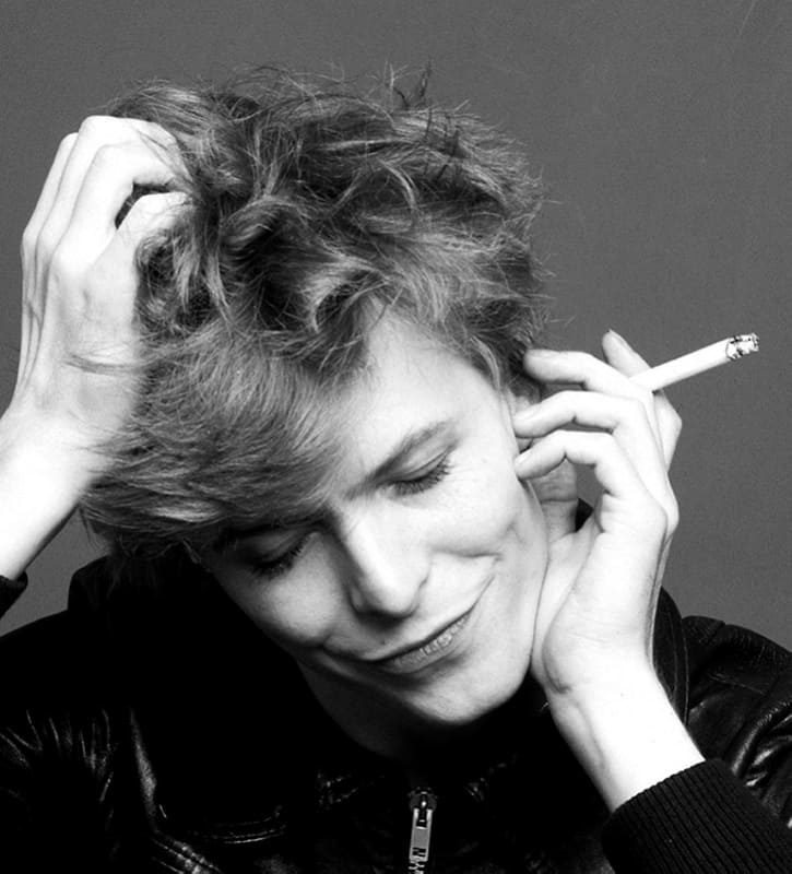 """""""David Bowie, Just for One Day, Tokyo,1977""""(c)Sukita"""