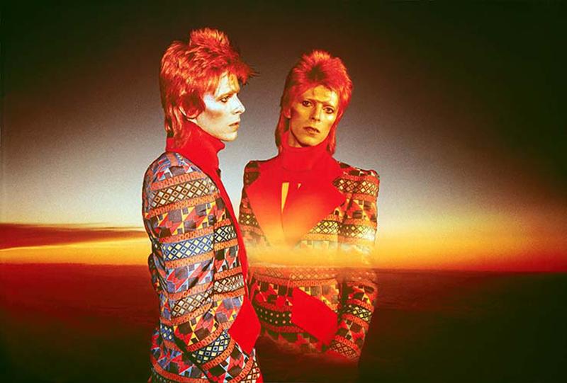 "David Bowie, Dawn of Hope, 1973""(c)Sukita"