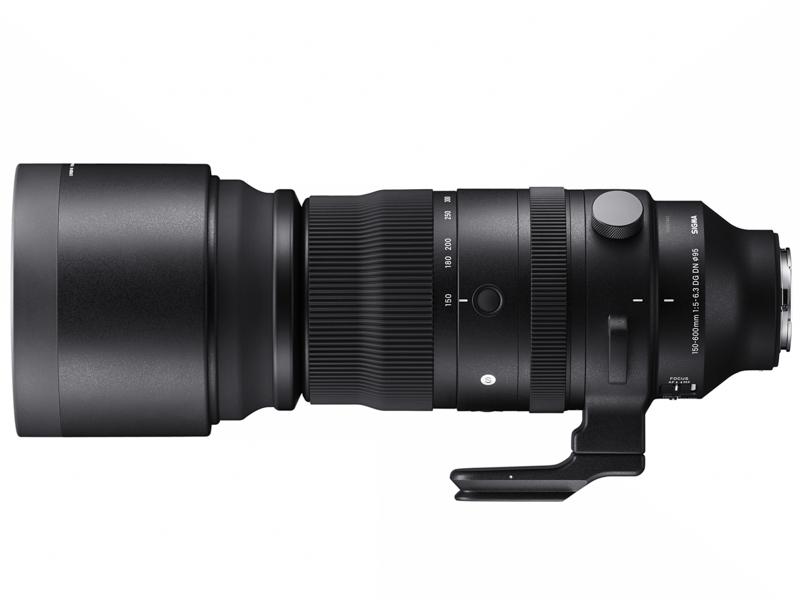 <center>SIGMA 150-600mm F5-6.3 DG DN OS Sports(写真はEマウント用)</center>