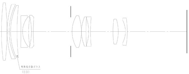 <b>レンズ構成図(DA 50-200mm F4-5.6 ED WR)</b>