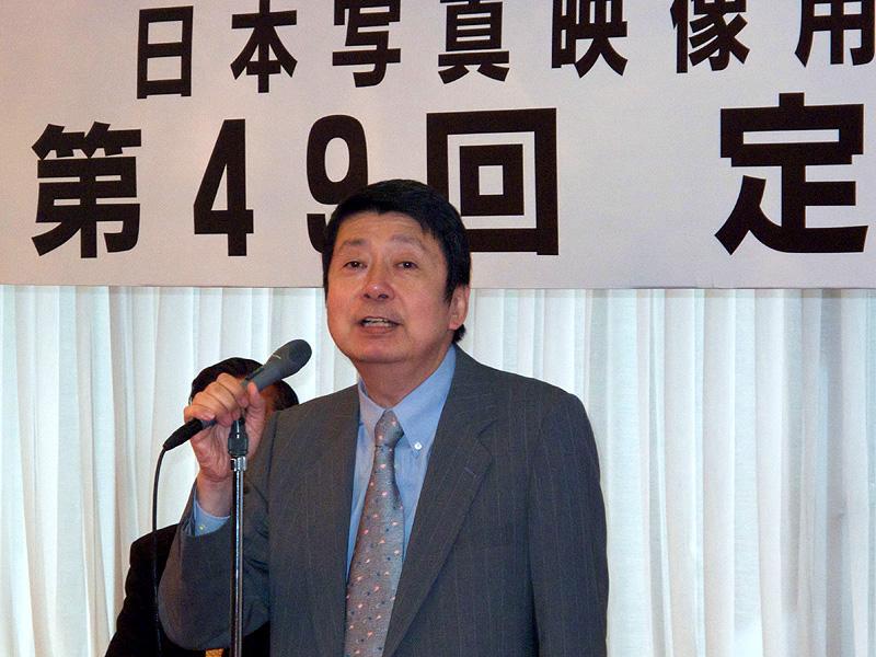 <b>続投が決まった中谷幸一郎会長(ベルボン)</b>