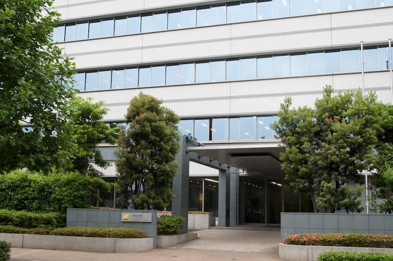 <b>後藤研究室が所在する大井ウエストビル(東京都品川区)</b>