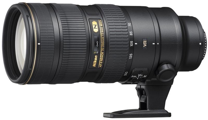 <b>AF-S NIKKOR 70-200mm F2.8 G ED VR II</b>