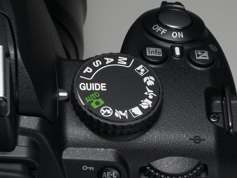 <b>モードダイヤルに「GUIDE」を表示する</b>