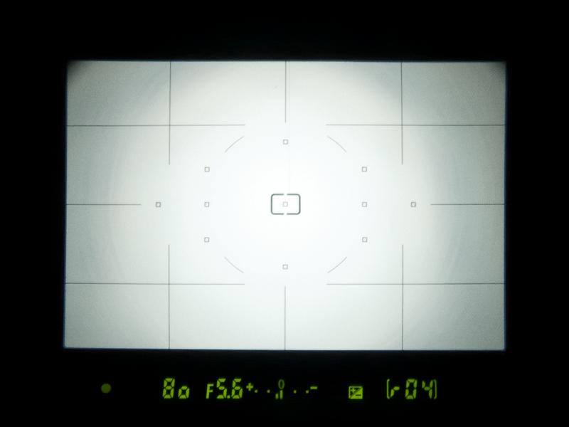 <b>ファインダーは、視野率95%、倍率0.8倍。AFはD90やD5000と同じ11点測距。ワイドフレーム化などの機能は備えていない</b>