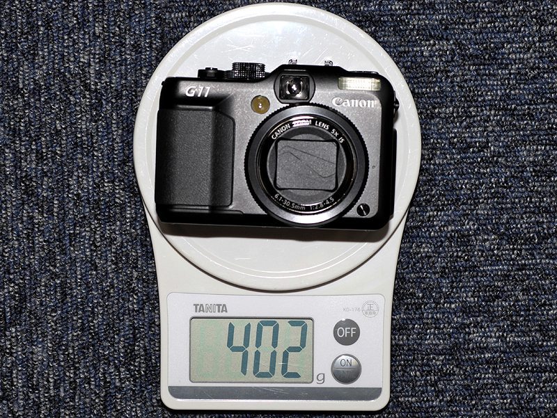 <b>バッテリーと記録メディアを含む重量</b>