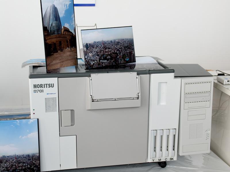 <b>ノーリツ鋼機のミニラボ「D701」</b>